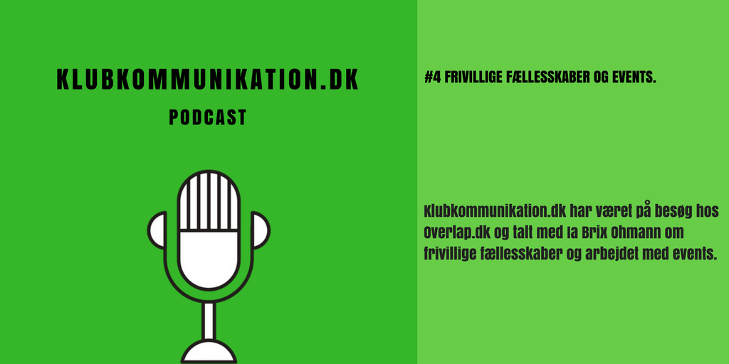 Podcast - Frivillige fællesskaber og events