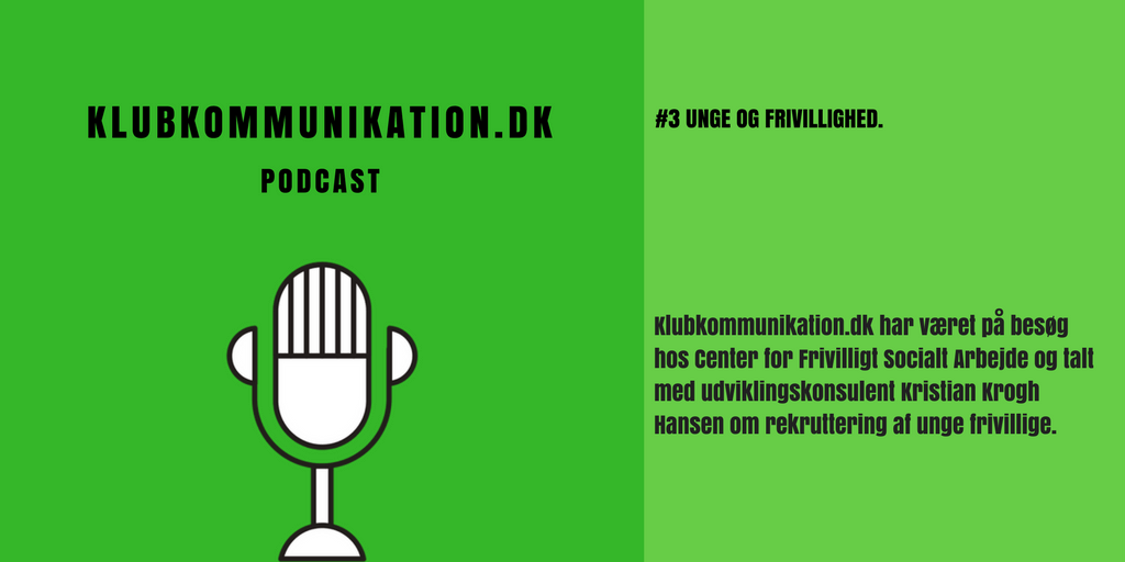 Podcast episode unge og frivillighed