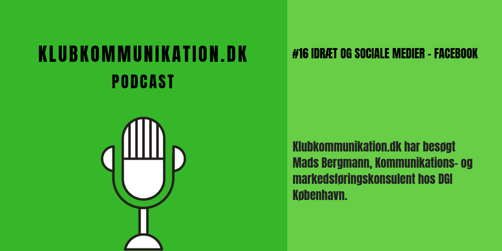 Illustration til Podcast episode 16 fra Klubkommunikstion.dk